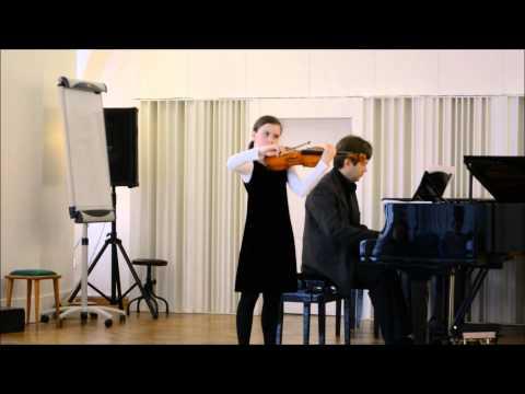 I.J.Paderewski-Melodia, wyk.Marta Gębska, Antoni Lichomanow