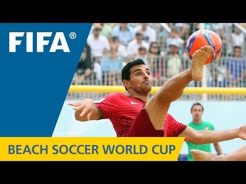 HIGHLIGHTS: Portugal V. Argentina - FIFA Beach Soccer World Cup 2015