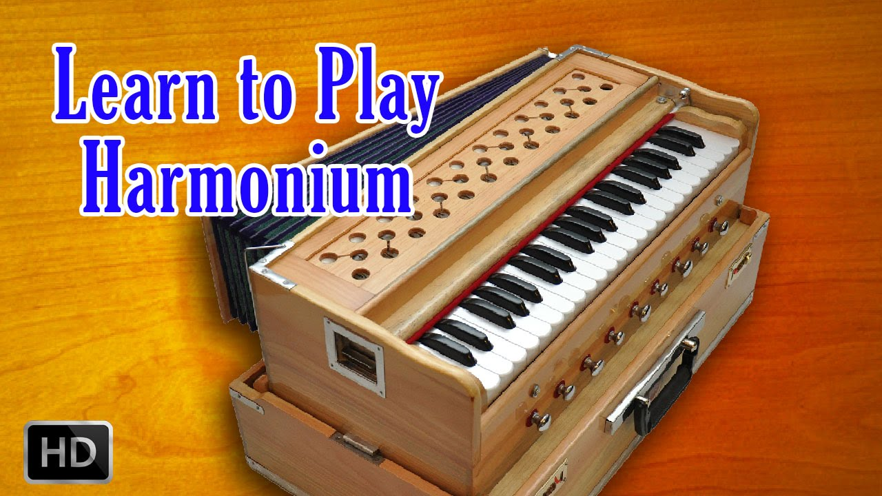 learn to play harmonium - basic lessons of beginners - harmonium