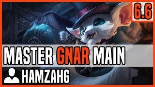 Patch 6.6 Gnar Top Main - Matchup: Gangplank - Ranked Master NA