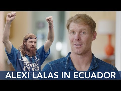Alexi Lalas Reflects on Playing in Ecuador