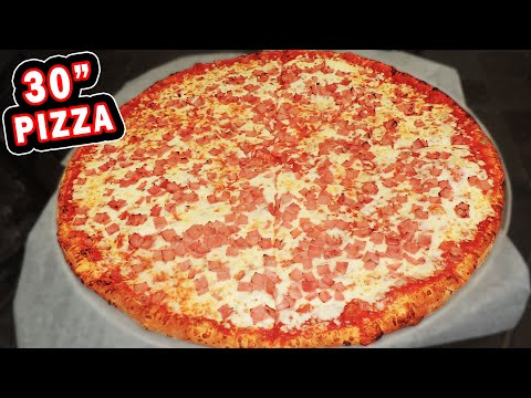 "30"" ARIZONA PIZZA CHALLENGE w/ MAGIC MITCH!!"