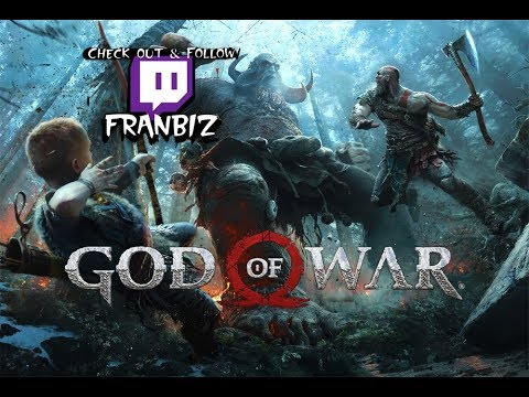 God of War stream # 1 (The Stranger/ meeting Brok)