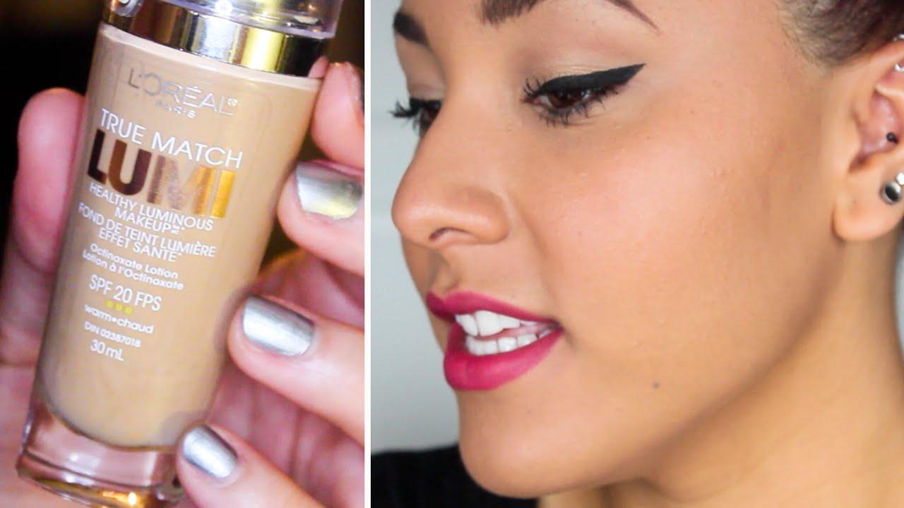 ... L Oreal True Match Lumi Healthy Luminous Makeup Review Wajihair co