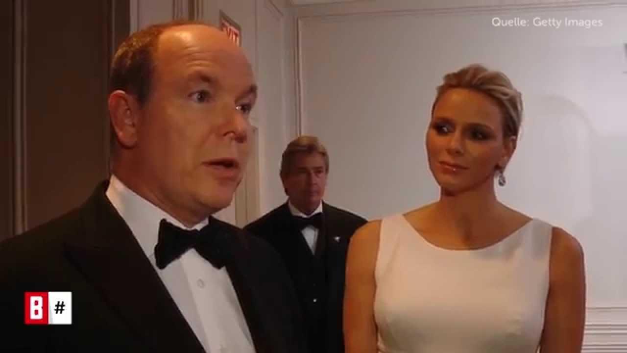 BUNTE TV - #MorningHash 10. Oktober 2014: Charlène von Monaco - So stolz steht sie Albert zur Seite!