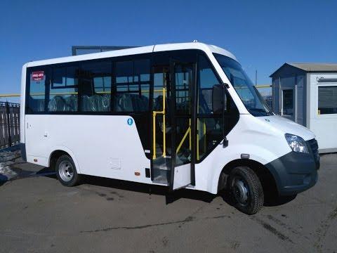 ГАЗель Next каркасный автобус / обзор / NICE-CAR.RU
