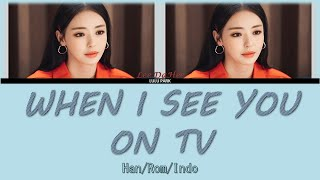Lee da hee (이다희) - when i see you on tv (ost. search: www part 6) lyrics sub indo thanks for watching! please like and share this video! don't forget to subs...
