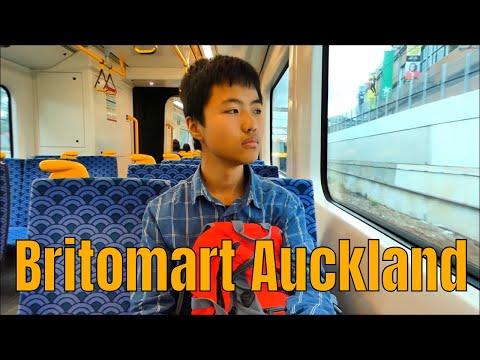 Free Train Trip, Britomart, Auckland Downtown