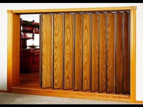 Accordion Closet Doors Youtube