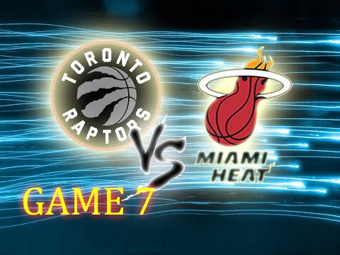 NBA 2K16 // GAME 7 // Toronto Raptors vs Miami Heat // CPU VS CPU