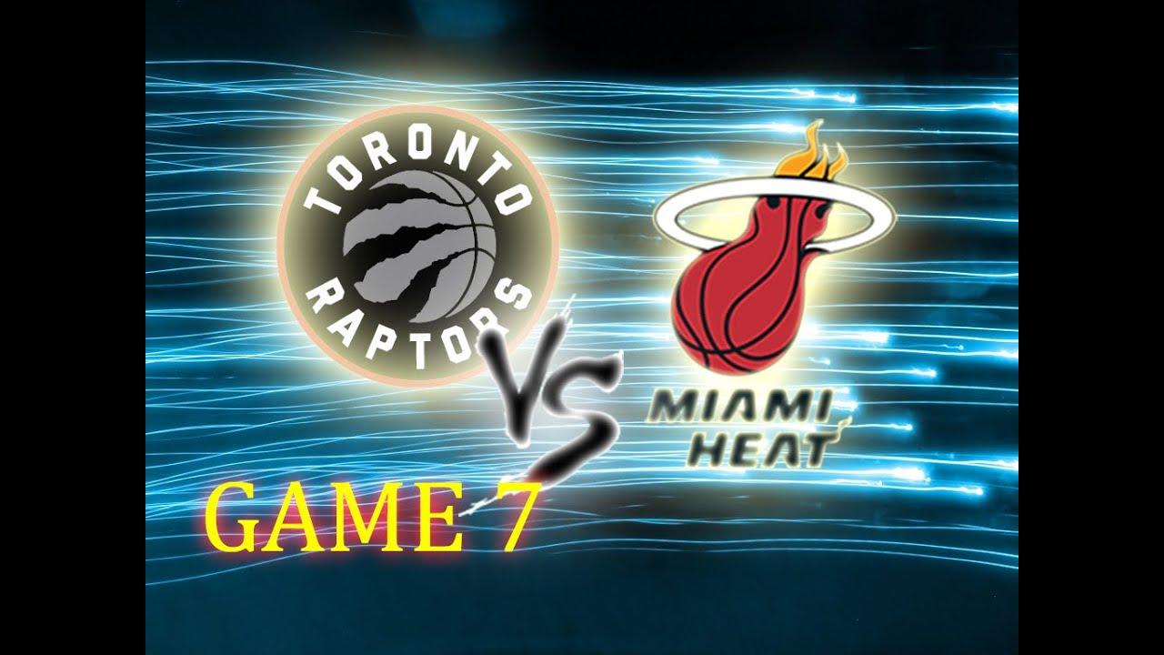 NBA 2K16 // GAME 7 // Toronto Raptors vs Miami Heat // CPU ...  Nba 2k14 Graphics Comparison