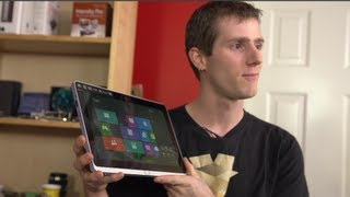 acer Iconia W700 Windws 8 Tablet Unboxing & First Look Linus Tech Tips