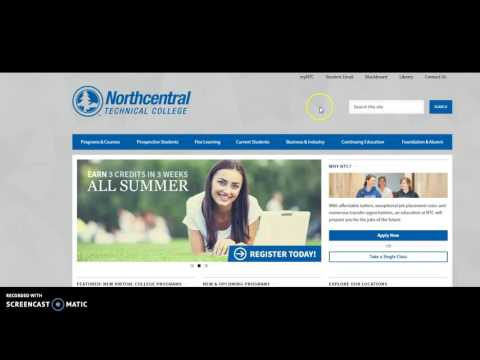 Northcentral Technical College's Accounting Program online welcome
