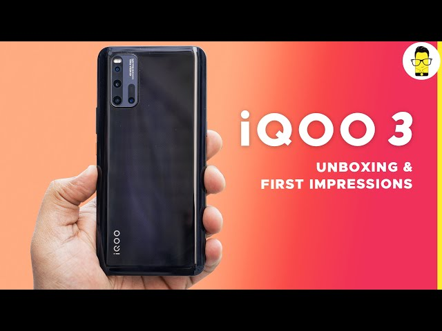 iQOO 3 hands-on review and unboxing - performance monster!