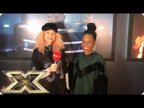 Exclusive interview with Shan Ako from The X Factor! - Just Eat's Backstage Bites 2018 | Episode 2
