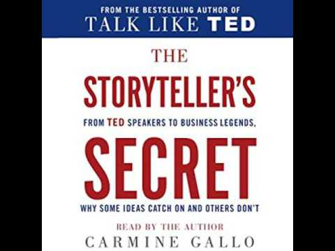 The Storyteller's Secret From TED Speakers to Business Legends Audiobook