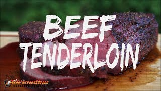 Reverse Sear Beef Tenderloin Recipe - How to cook Chateaubriand with Slow