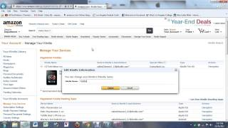 Kindle Fire HD   How to Change the User Name | H2TechVideos