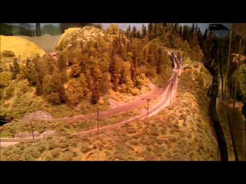 Washington State History Museum Model Railroad - Tacoma, WA(USA)