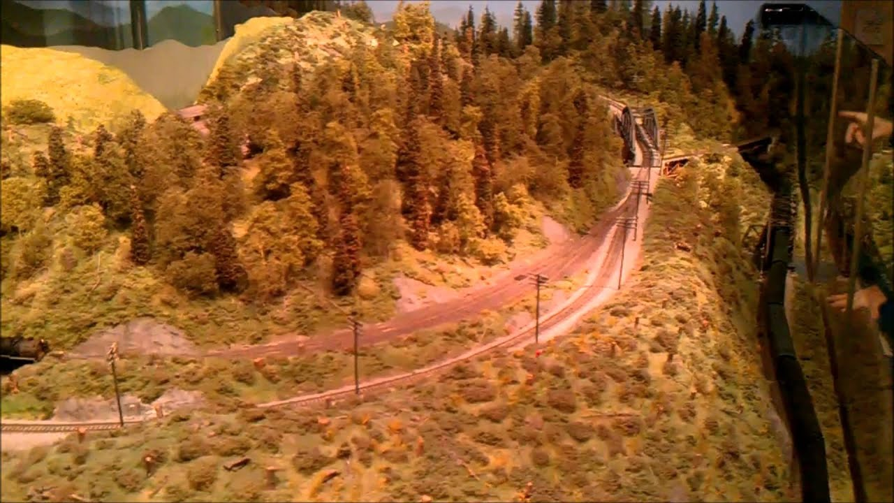 Washington State History Museum Model Railroad Tacoma WAUSA - Historical museums in usa
