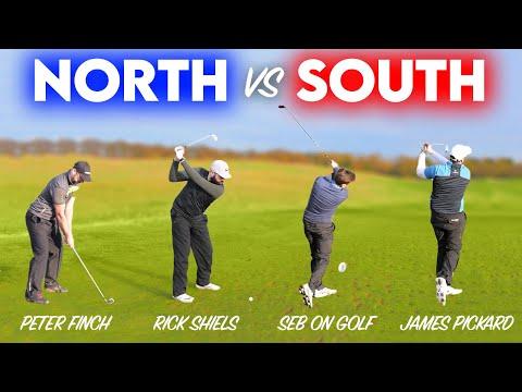 NORTH VS SOUTH - 4 HOLE GREENSOMES MATCH - Single Length Irons