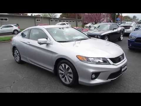 2013 Honda Accord EX-L Coupe Walkaround, Start Up, Tour And Overview