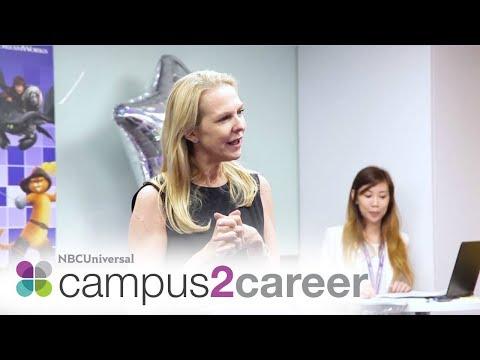 """Follow Your Passion"" - NBCU Intern Graduation Asia Pacific 2017"