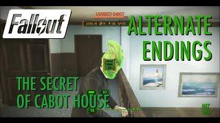 Fallout 4 - Secret of Cabot House Alternative Endings