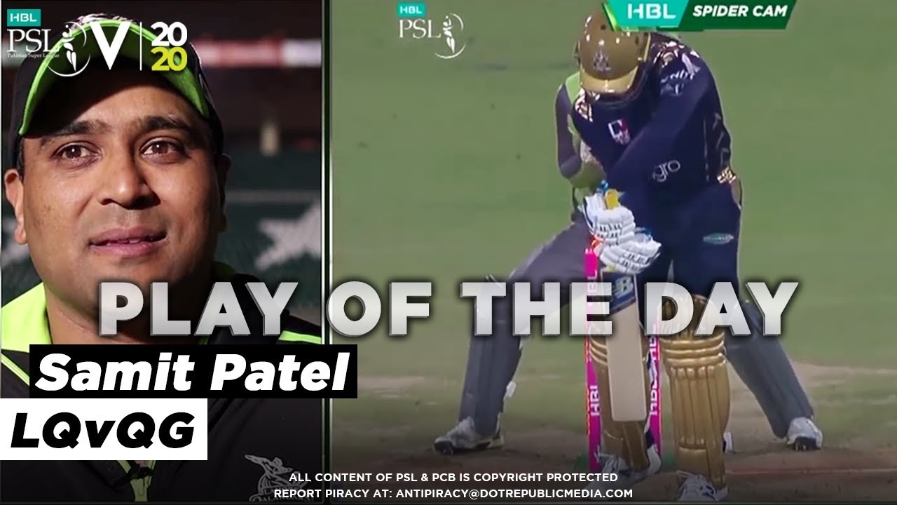 Play of the Day with Samit Patel | HBL PSL 2020