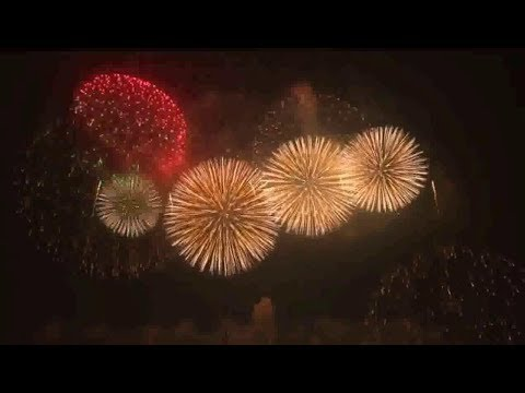 New Year celebrations in the largest cities and capitals of the world
