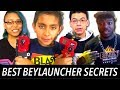 Best Beyblade Launcher Secrets! Beyblade Burst Giveaway & Beytuber Collab!  New Beyblades Review