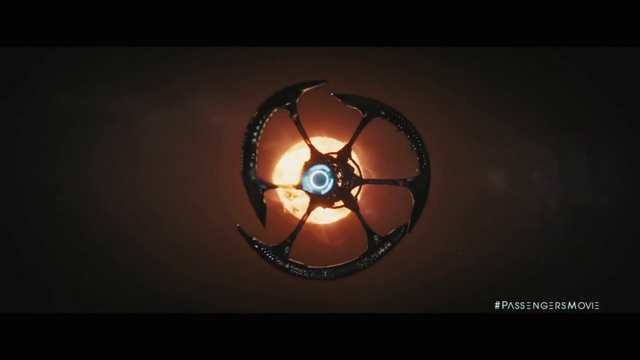 Passengers trailer 3 and clip jennifer lawrence chris for Passengers spaceship
