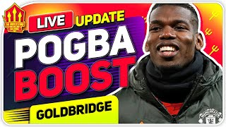 POGBA Boost! Declan RICE Transfer Hint! Man Utd News