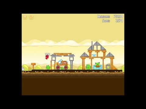Angry Birds Walkthrough Level 4-13 [3 Stars] from YouTube · Duration:  39 seconds