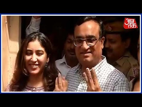 MCD Election 2017: Ajay Maken Cast Their Vote