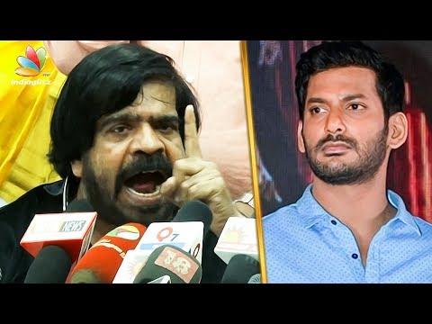 நீ பெரிய துப்பறிவாளனா ? : T Rajendar Slams Vishal | Latest Speech