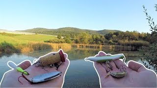 Fishing with CRAZY Homemade Lures (EPIC!)