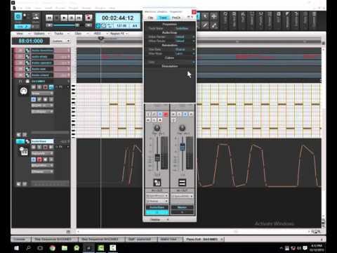 sonar platinum  controrles MIDI, automation