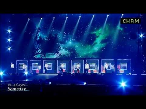 [HD] Ballad Medley (Bittersweet+Someday+Memories) - SUPER JUNIOR 韓中字幕