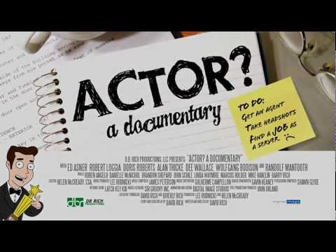 Actor? a documentary Official Trailer