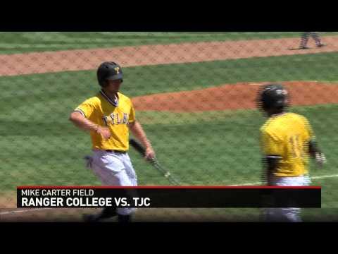TJC Baseball Sweeps Ranger College