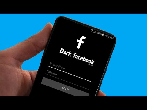 How To Enable Facebook Dark Mode Android One UI