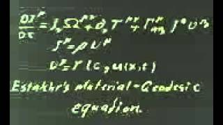 Estakhr Material-Geodesic Equation is Relativistic version of Navier-Stokes Equation through...