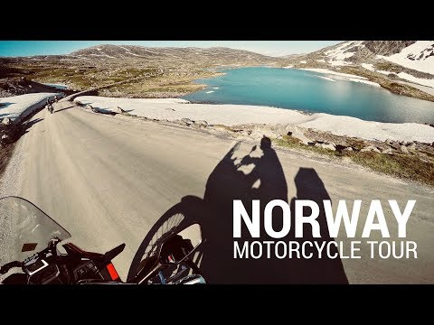 Motorcycle tour to Norway - Trollstigen, Atlantic Ocean Road, Lærdalstunnelen, Flåmsdalsvegen