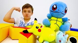 Эволюция покемонов и ИгроБой Глеб! Видео с игрушками