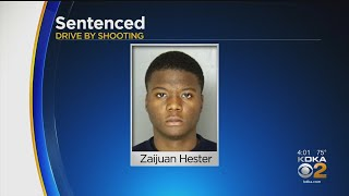 Teen Involved In Drive-By Shooting, Sentenced
