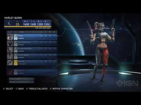 Injustice 2 - Harley Quinn (Color Customization)