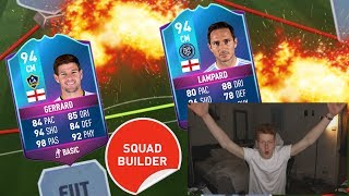 END OF AN ERA 94 GERRARD + LAMPARD SQUAD BUILDER!!! - FIFA 17 ULTIMATE TEAM