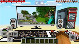 Realistic Working Computer In Minecraft! (minecraft Educational Edition Video)