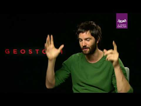 Geostorm's Jim Sturgess on saving Dubai, punching Ed Harris in the face